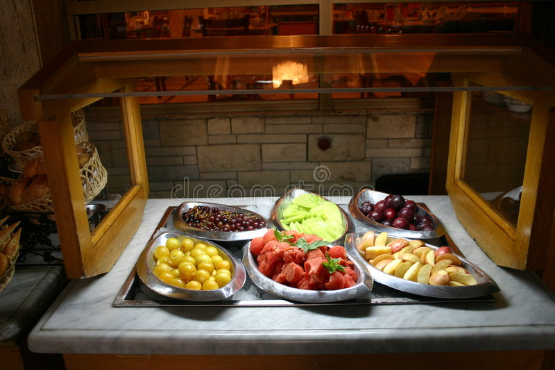 Download Fruit Buffet stock image. Image of food, grapes, cold, melon - 247307