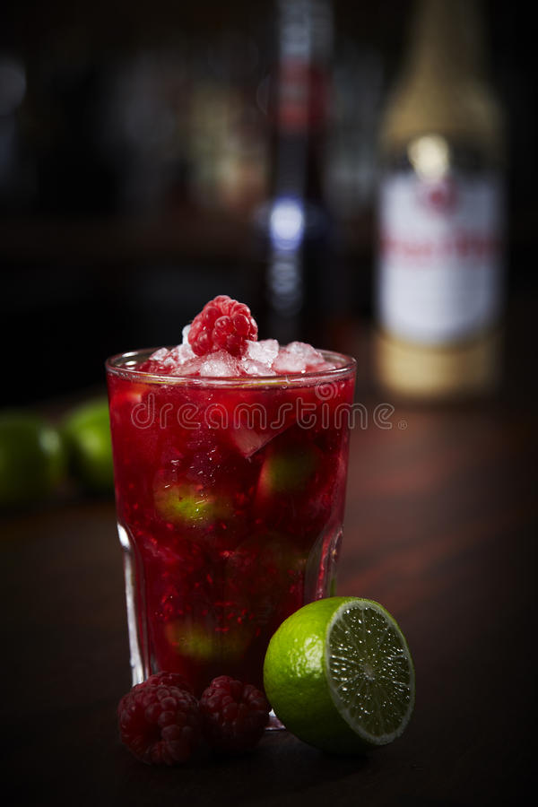 Download Fruit Caipinrinha cocktail stock photo. Image of glass - 41437054
