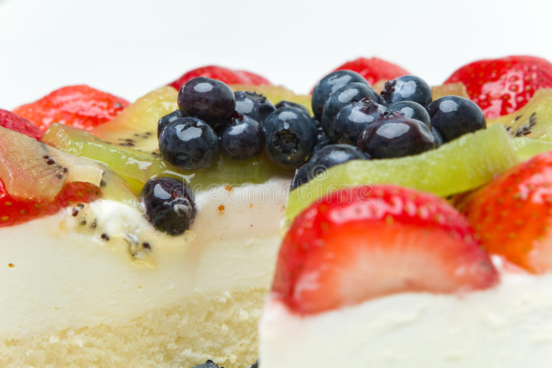 Download Fruit cake stock image. Image of closeup, blueberry, gold - 16527777