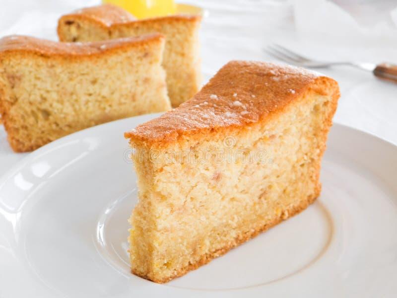 Download Fruit Cake Slices On White Dish. Stock Photo - Image: 13190456