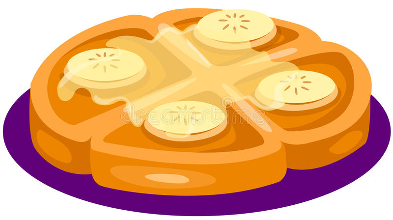 Download Fruit Cake With Syrup On Top Stock Vector - Image: 24412255