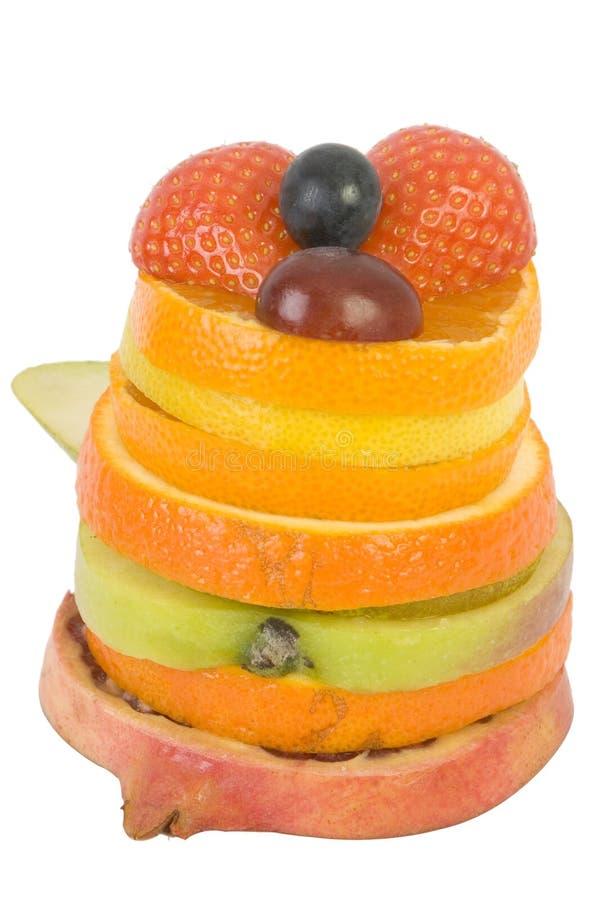 Fruit cake3 stock photo