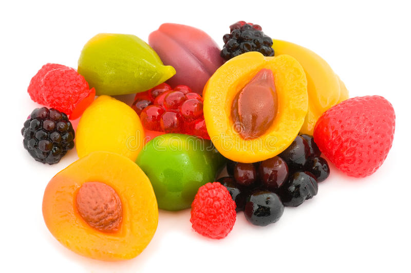 Fruit candy royalty free stock image