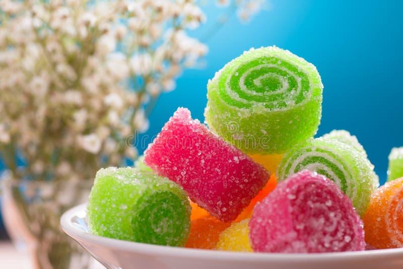 Fruit candy stock photos