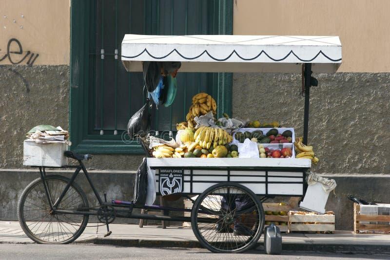 Fruit Cart royalty free stock photo