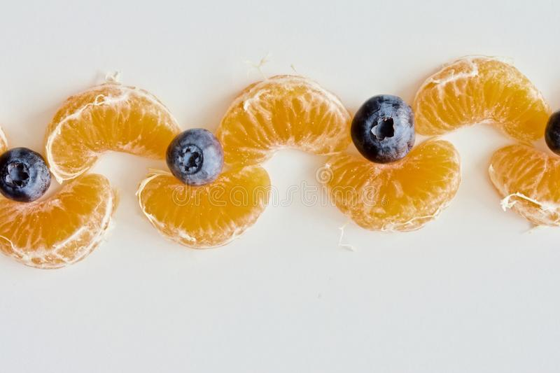 Fruit chain royalty free stock images