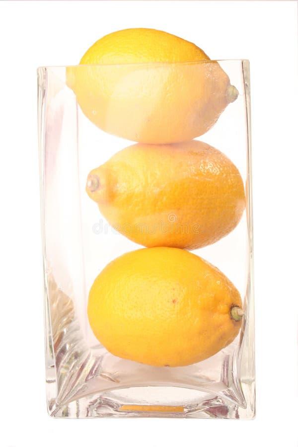 Fruit - citron d'isolement photo stock