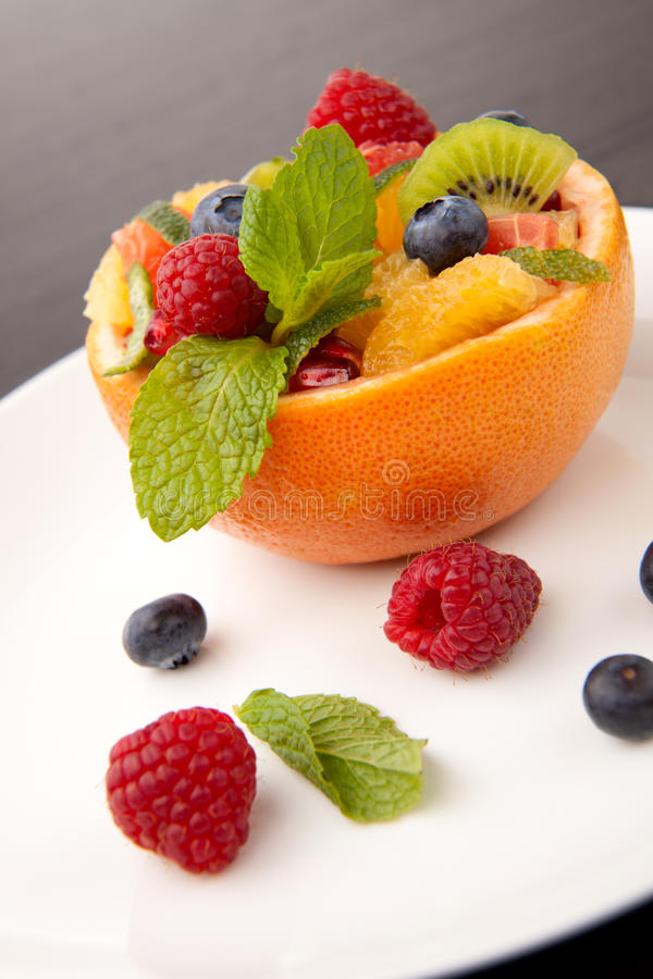 Download Fruit Citrus Berry Salad Royalty Free Stock Photos - Image: 13324008