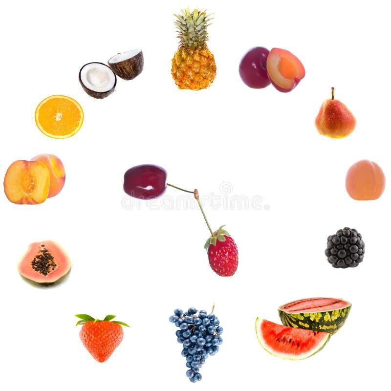 Download Fruit Clock. Royalty Free Stock Image - Image: 11596346