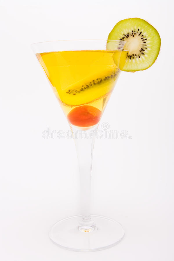 Download Fruit cocktail stock image. Image of close, fruit, white - 12152535