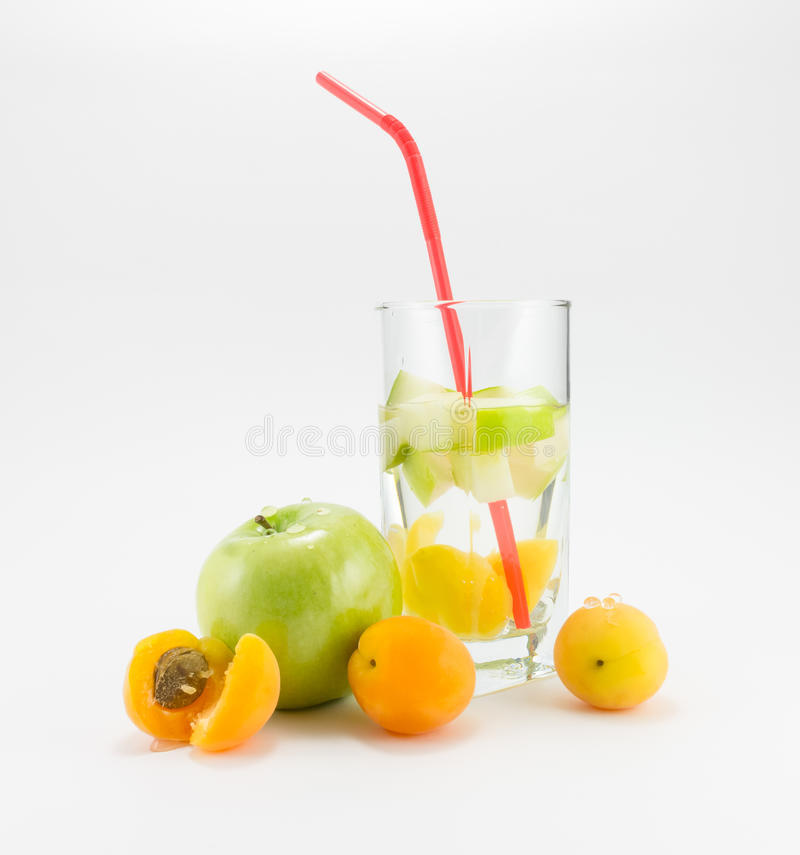 Fruit cocktail stock afbeelding