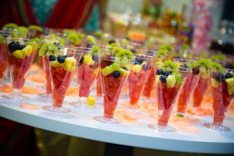 Fruit cocktail royalty-vrije stock afbeelding