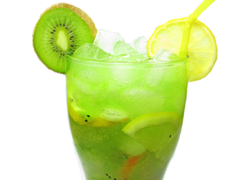 Download Fruit Cocktail Smoothie With Kiwi Stock Image - Image: 22396157