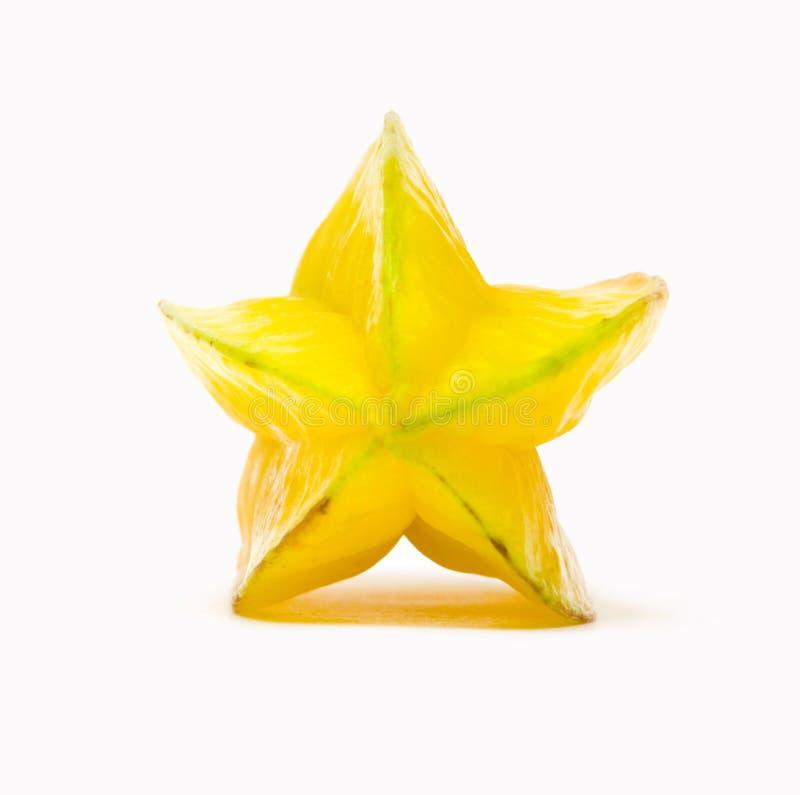 Fruit d'étoile (carambolier) photographie stock libre de droits