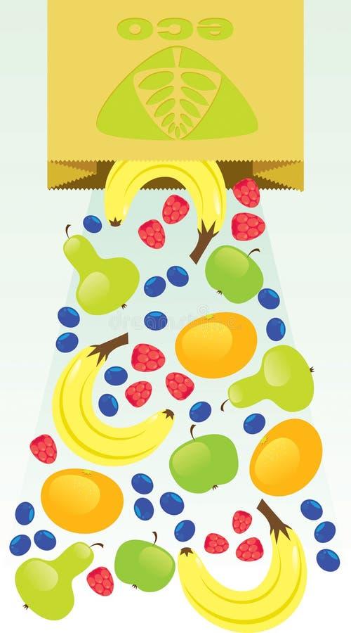 Fruit d'Eco photographie stock libre de droits