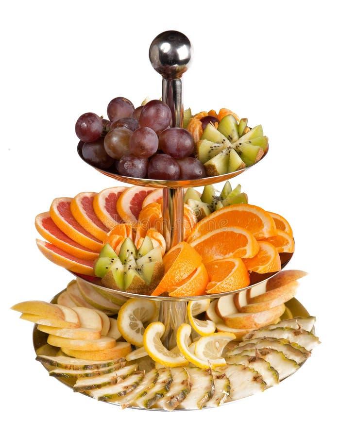 Fruit dans un vase photo stock
