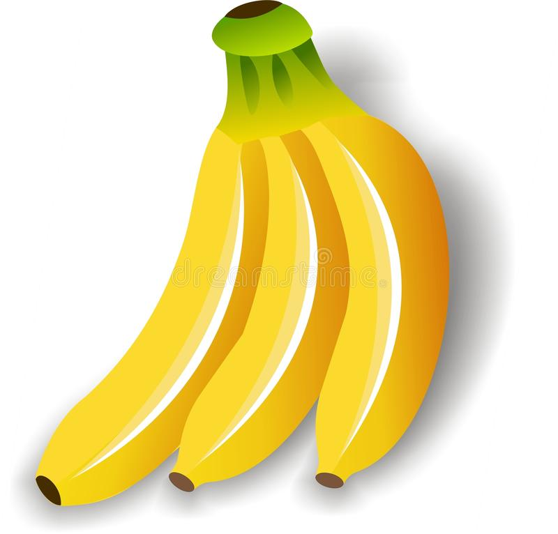 fruit de banane illustration libre de droits