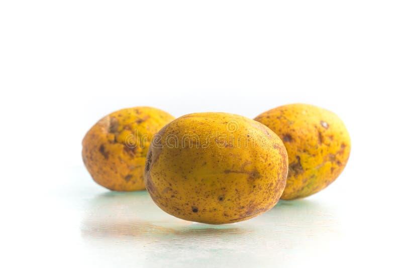 Fruit de Caja-Manga Dulcis de Spondias photos libres de droits