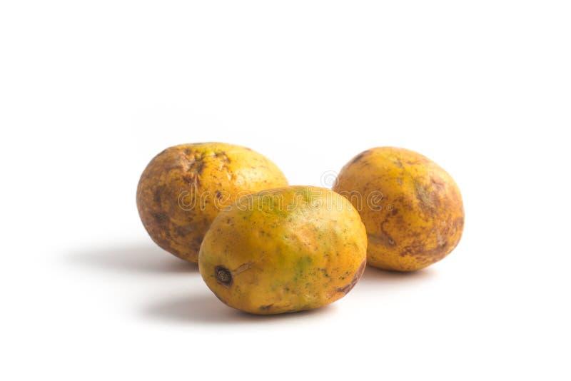 Fruit de Caja-Manga Dulcis de Spondias photo libre de droits