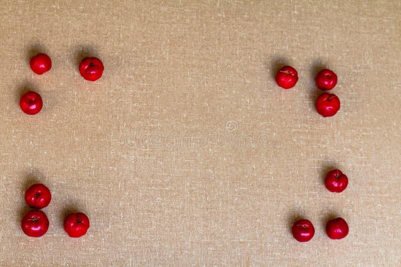Fruit de cerise d'Acerola images stock