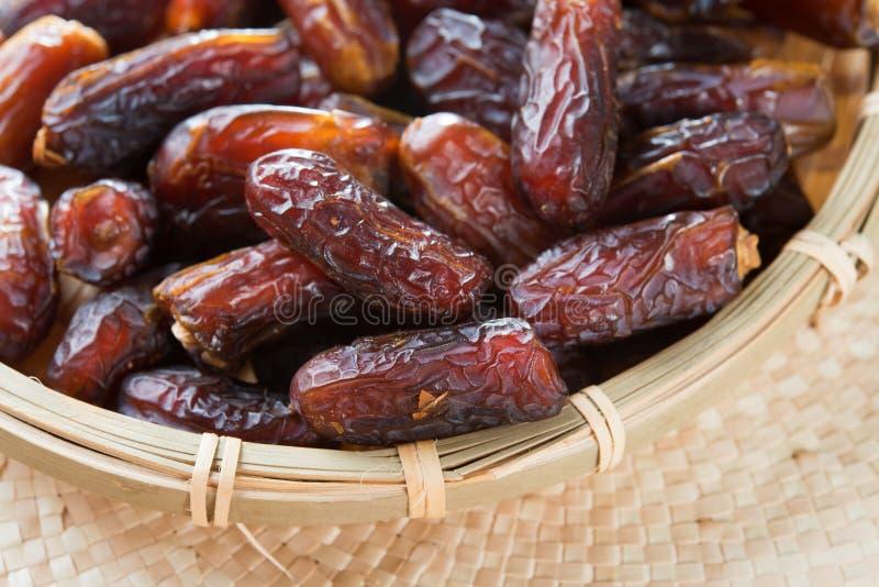 Fruit de dates. photos stock