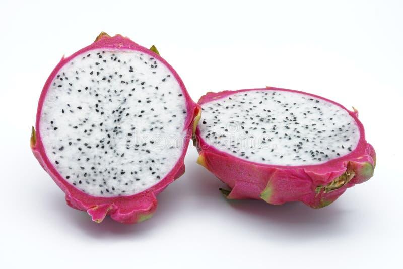 Download Fruit De Dragon Coupé Dedans à Moitié Photo stock - Image du asie, organique: 76078398