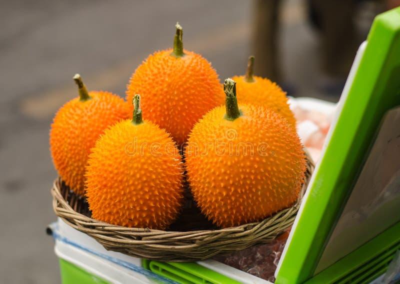Fruit de Gac, image libre de droits