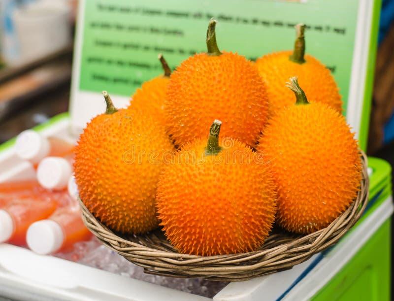 Fruit de Gac, photos stock