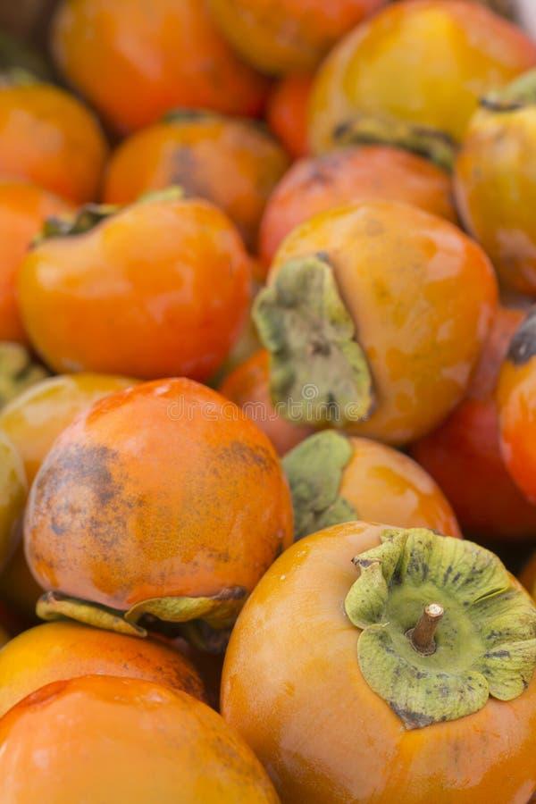 Fruit de kaki photographie stock