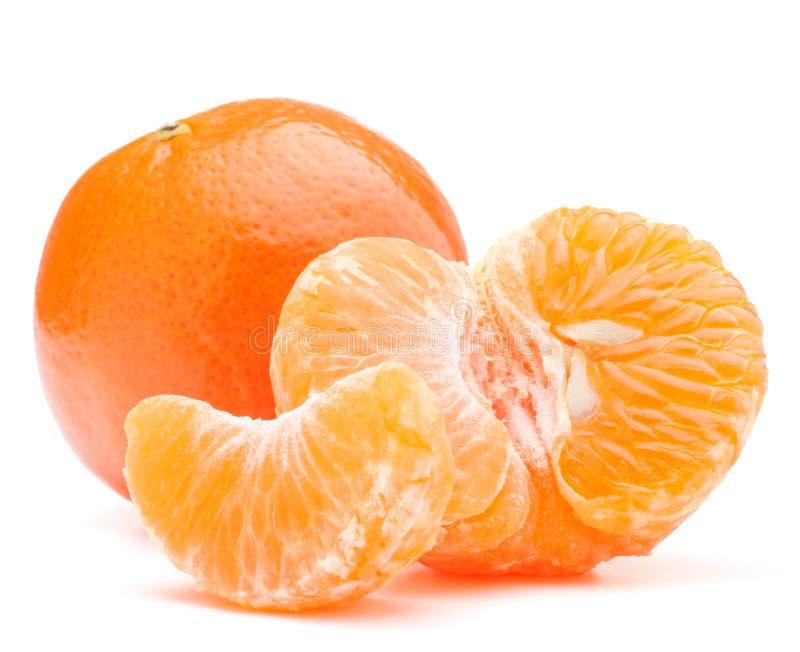 Fruit de mandarine ou de mandarine image libre de droits