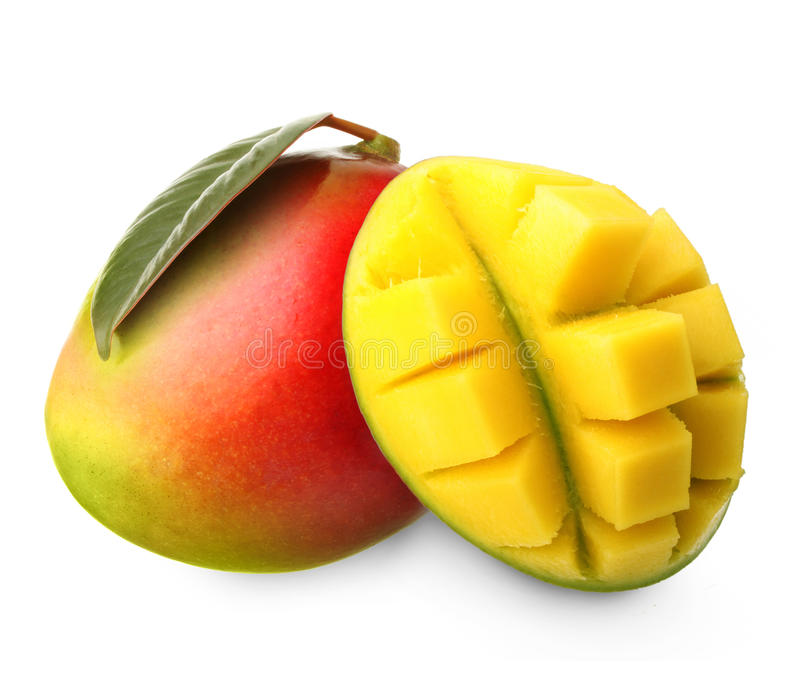 Fruit de mangue d'isolement photo libre de droits