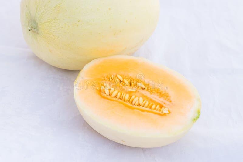 Fruit de melon de cantaloup photographie stock