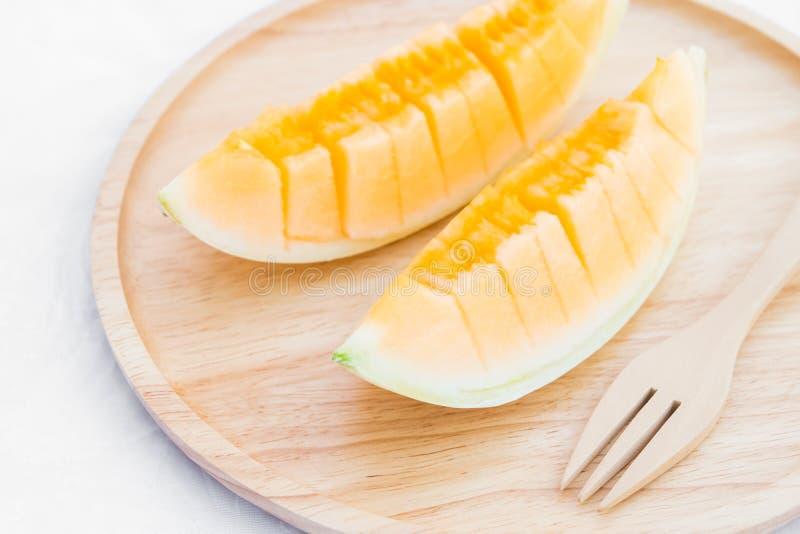 Fruit de melon de cantaloup photographie stock libre de droits