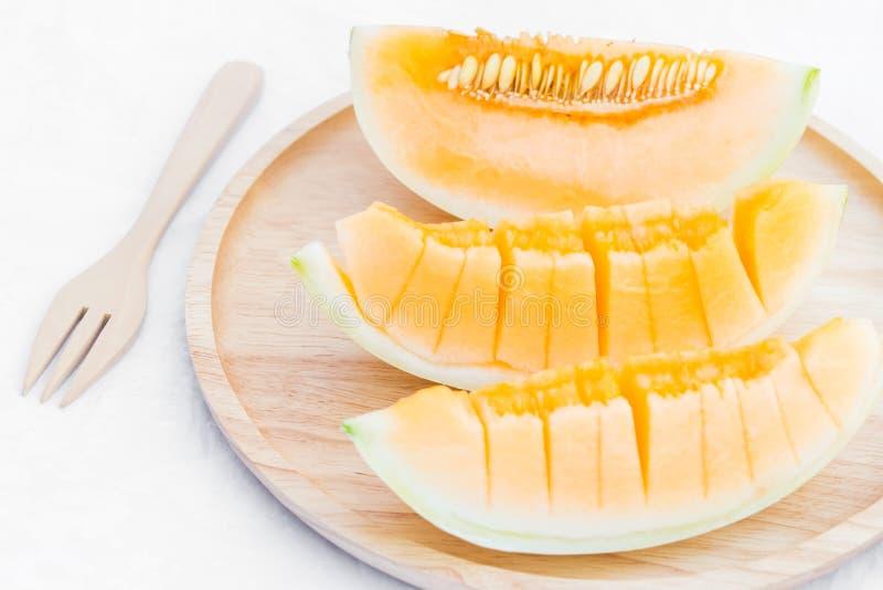 Fruit de melon de cantaloup photo libre de droits