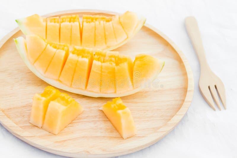 Fruit de melon de cantaloup image stock
