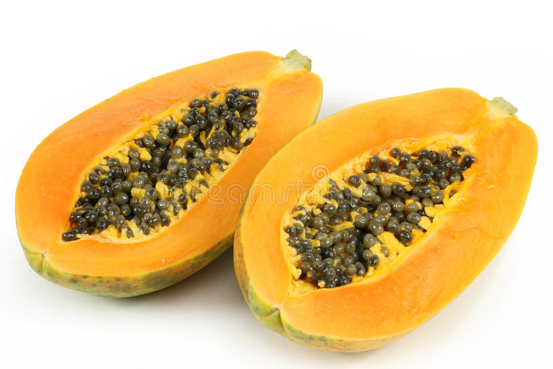 Fruit de papaye photo libre de droits