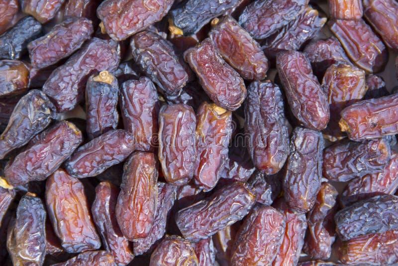 Fruit de paume de datte sèche images stock