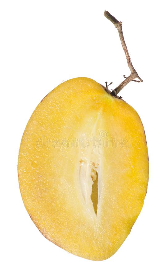 Fruit de Pepino image libre de droits