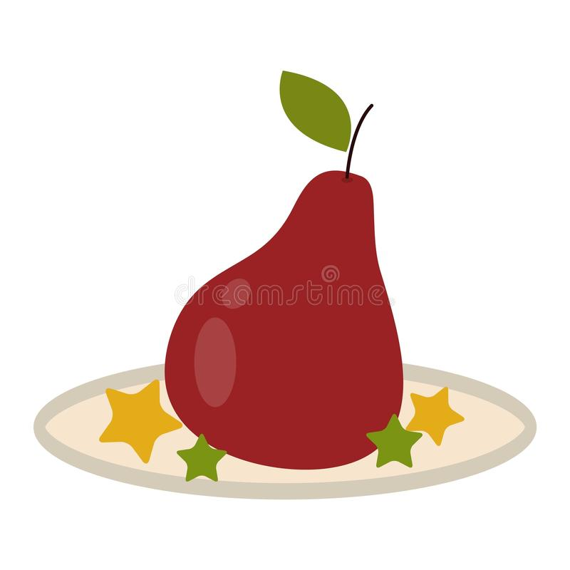 Fruit de poire illustration libre de droits