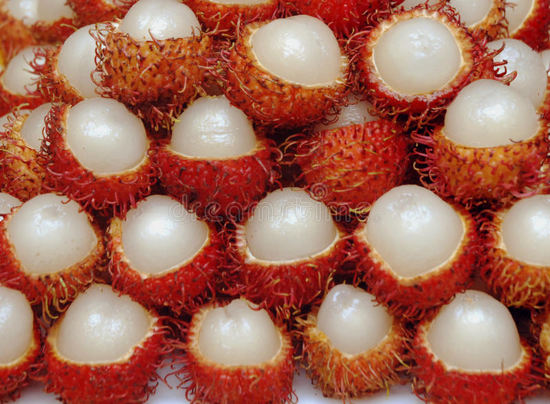 Fruit de ramboutan, fruit du Vietnam photo stock