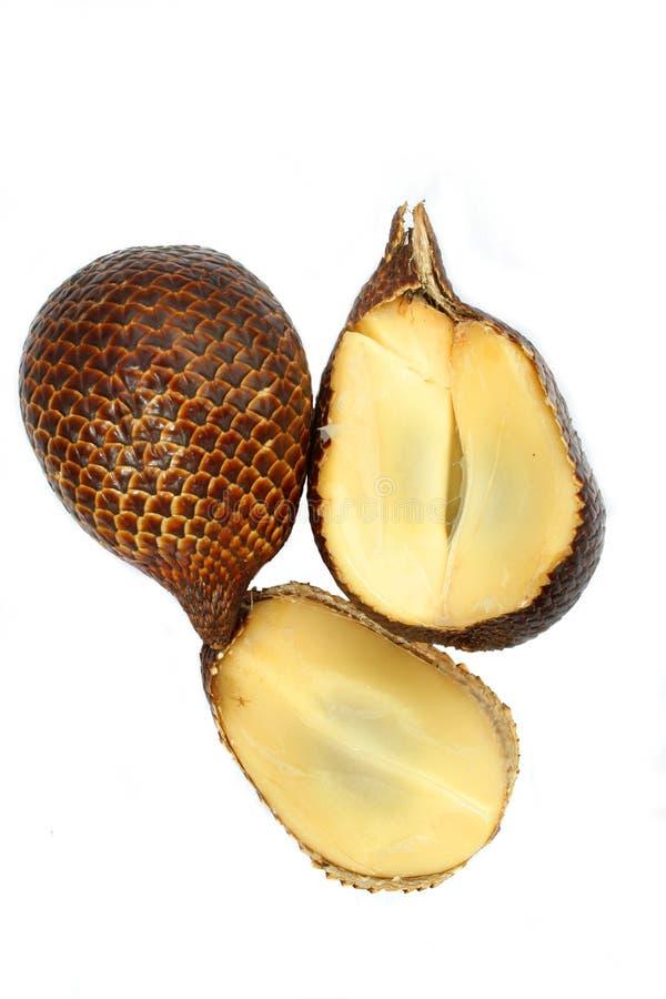 Fruit de Salak ou fruit de serpent images libres de droits