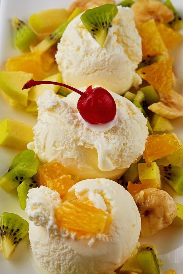 Fruit desert royalty free stock photo