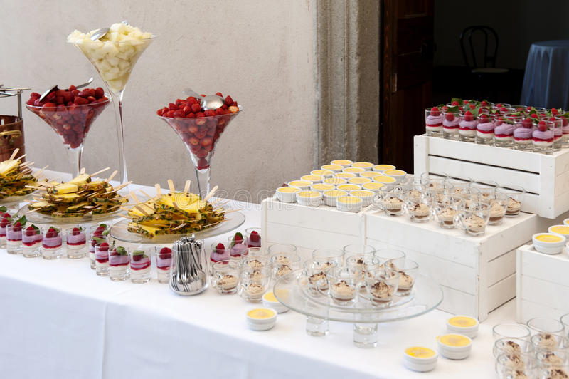 Fruit Dessert Buffet Selection Decorative Desserts Fruits Table Postre Candy