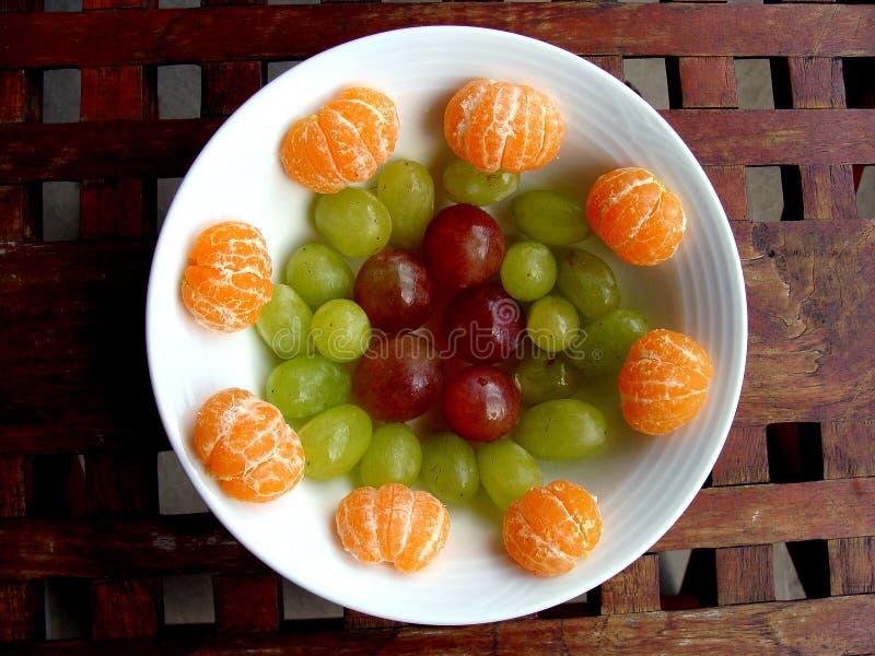 Fruit Dish stock images