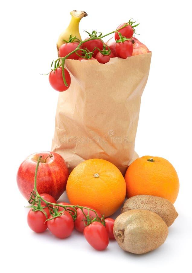 Download Fruit in document zak stock foto. Afbeelding bestaande uit dieet - 29512208