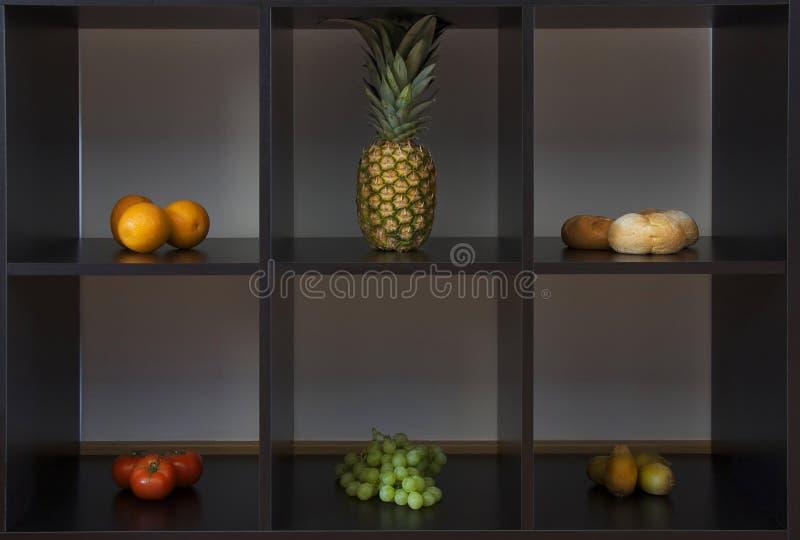 Fruit in dozen royalty-vrije stock foto's