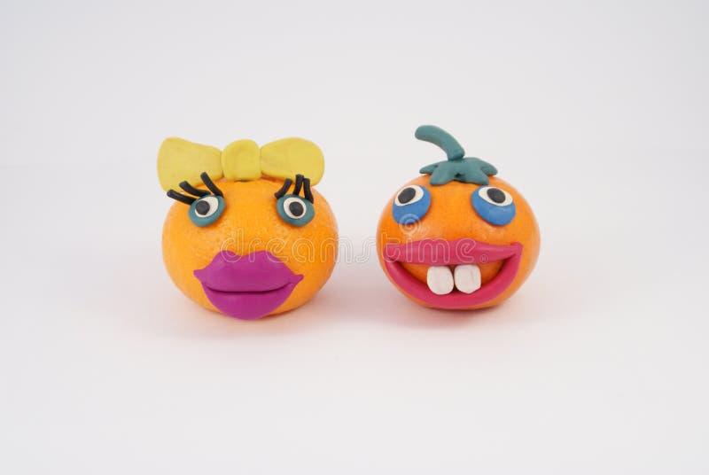 Fruit drôle photo libre de droits