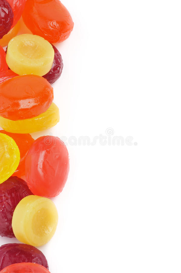 Fruit Drops Frame royalty free stock image