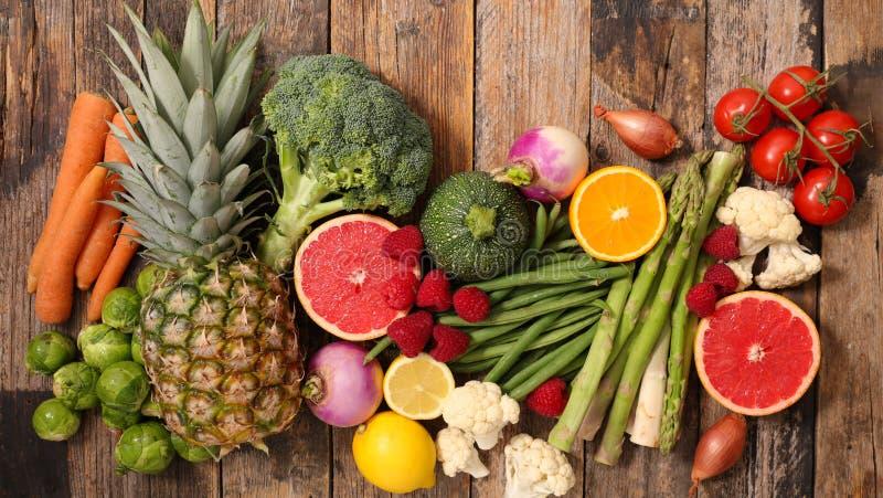Fruit en Groente royalty-vrije stock foto's