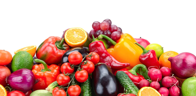 Fruit en Groente stock foto's